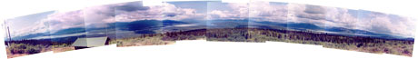 Panoramic Mountain Top View - 2