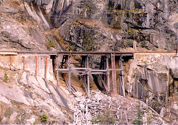 Whitepass Train Trestle