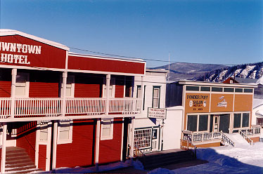 Dawson City Yukon - Downtown