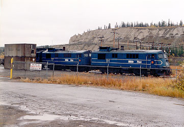 Whitepass & Yukon Diesel Engines